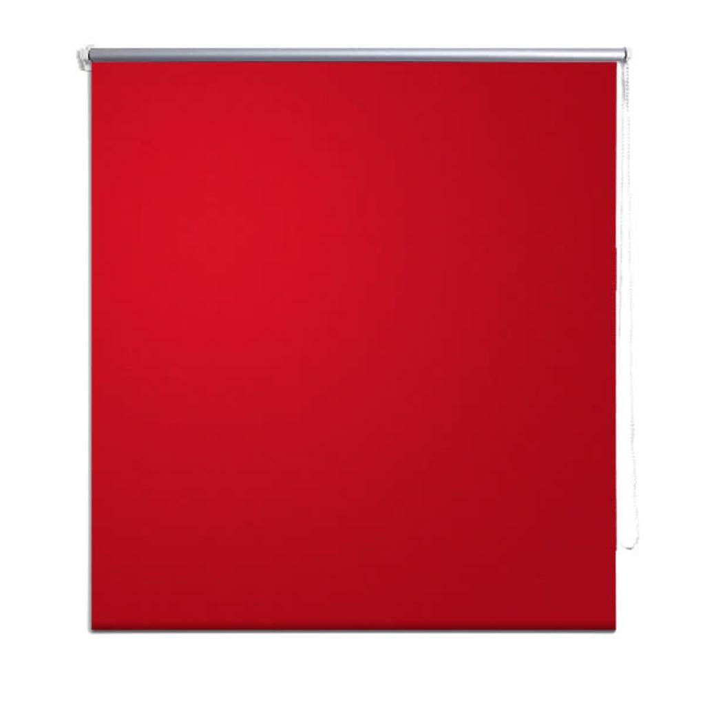 vidaXL Store enrouleur occultant rouge 40 x 100 cm rideau rouleau store fenêtre stores 13852