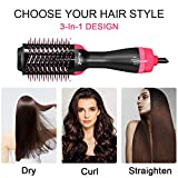 Hot Air Brush, One-Step Hair Dryer and