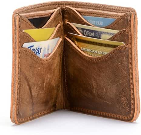 Saddleback Leather Medium Bifold Wallet - Bestselling, RFID-Shielded, Classic Men's, Full Grain Leather Wallet