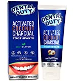 Activated Charcoal Teeth Whitening Activated CharcoalTeeth Whitening Toothpaste - Made in USA  REMOVES BAD BREATH andTOOTH STAINS-Best Natural Toothpaste forHerbal Decay Treatment - Mint flavor.
