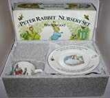 Peter Rabbit Nursery Set Wedgwood 3-Piece Set