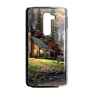 The country beautiful scenery Phone Case for LG G2