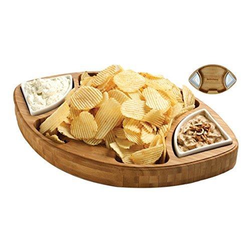 Football Snack Bowl (Football Snack Tray)