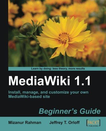 MediaWiki 1.1: Beginner's Guide