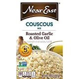 Near East Couscous Mix, Roasted Garlic & Olive Oil,5.8 ounce (Pack of 12 Boxes) For Sale