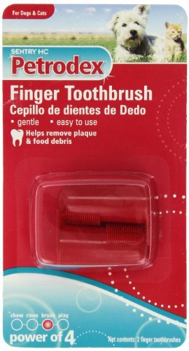 (Petrodex Finger Toothbrush Dog and Cat,)