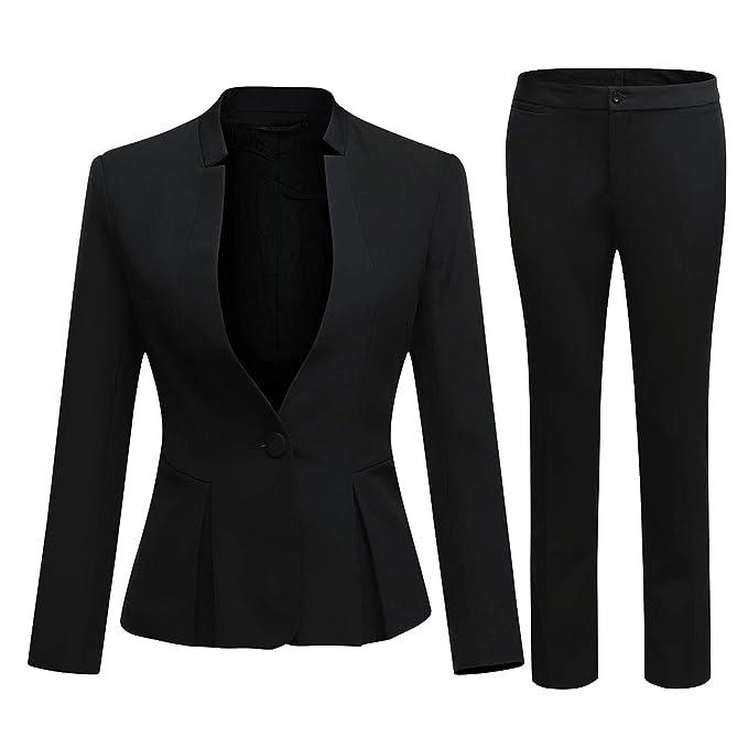 Amazon.com: Conjunto de chamarra y pantalón para mujer con ...