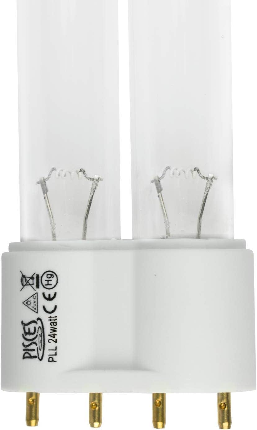 Pisces 24 W vatios PLL l/ámpara de Repuesto de Foco UV para Filtro de Estanque UVC