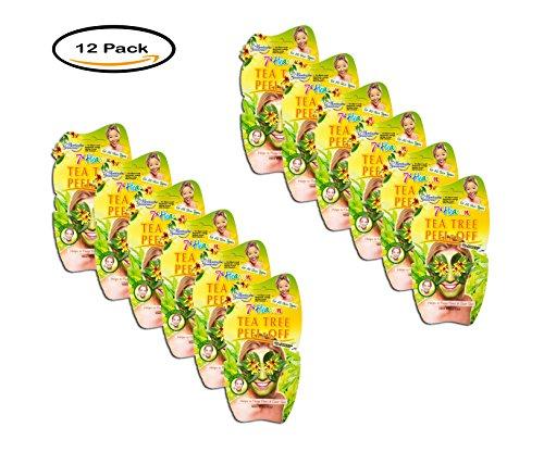Price comparison product image PACK OF 12 - 7th Heaven Tea Tree Peel-Off Masque, 0.3 fl. oz.