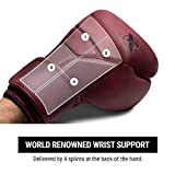 Hayabusa T3 LX Leather Boxing Gloves for Men and