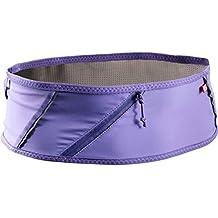 Salomon Unisex Pulse Belt, Purple Opulence, Medieval Blue, L