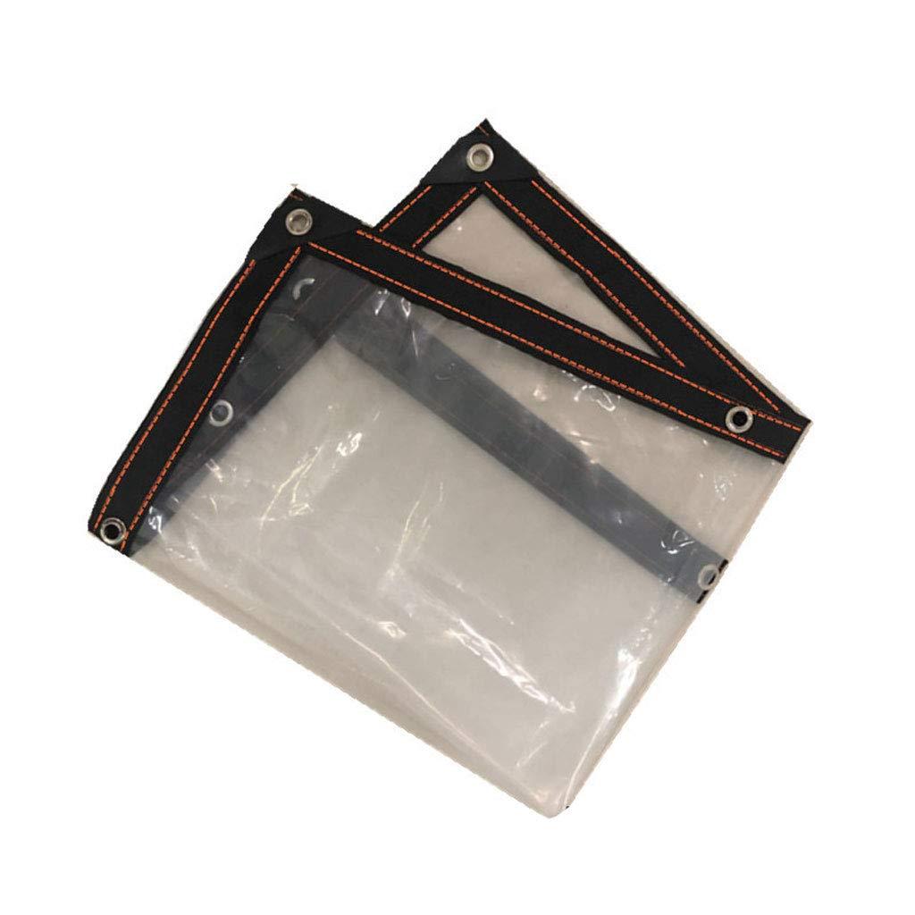 Qing MEI Starke Transparente Filmpapierplane Regendichte Plastikisolierungsfilm-Regenstoffabdeckung Möbelabdeckung Schützender Film A+ (größe   2m8m)