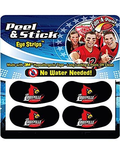 Louisville Cardinals Set of 4 Peel & Stick