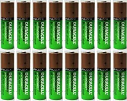 16 X NEW Duracell AA Batteries Rechargeable NiMH Precharged 2400mAh + FREE BATTERY HOLDER