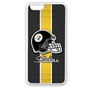 "UniqueBox Customized NFL Series Case for iPhone 6+ Plus 5.5"", NFL Team Pittsburgh Steelers Logo iPhone 6 Plus 5.5"