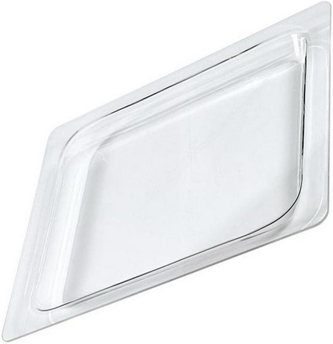 Dietrich - Bandeja rectangular de cristal (400 x 325 mm) para microondas (79 x 7440 cm)
