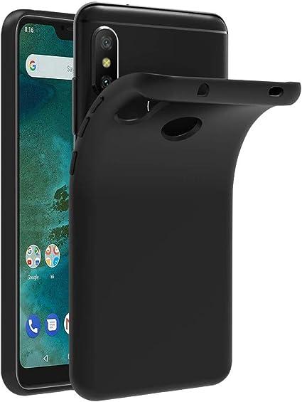 Funda Xiaomi Mi A2 Lite, Eouine Cárcasa Silicona Suave Gel TPU ...