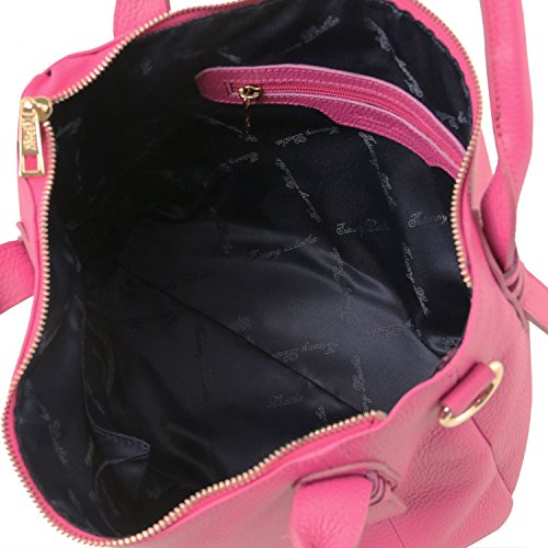 Sac à Tuscany TLBag en Main Magenta Souple Magenta Cuir Leather rwtqt6TE