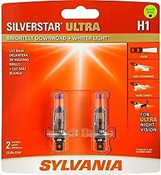 Sylvania H1 SilverStar Ultra Headlight Bulbs (Pair)