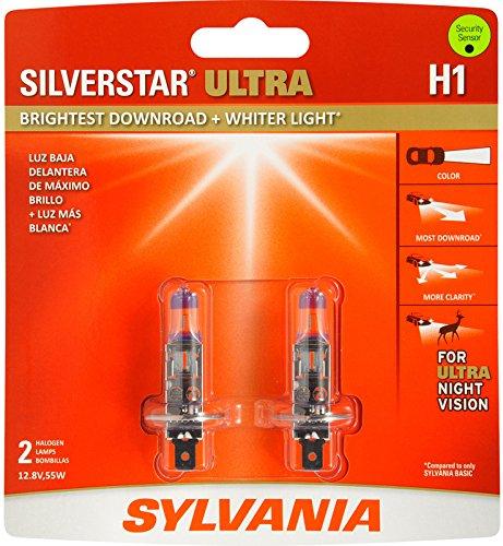 Sylvania H1 SilverStar Ultra Headlight Bulbs (Pair) (Sylvania Headlights H1 compare prices)