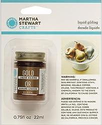 Martha Stewart Crafts Liquid Gilding.75 oz, Gold