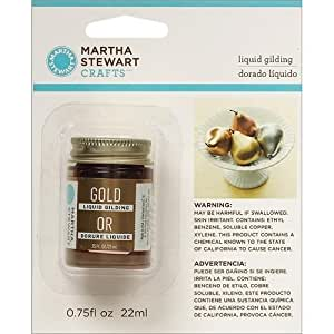 Martha Stewart Crafts Liquid Gilding (0.75-Ounce), 32214 Gold
