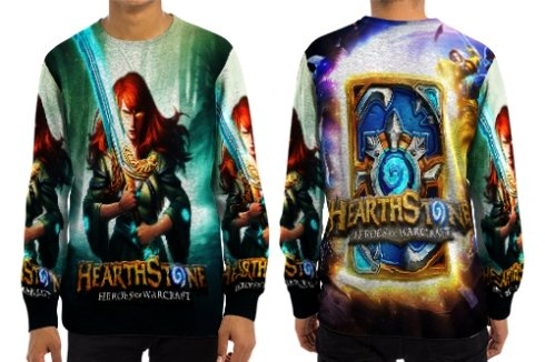 Amazon.com : Hearstone Style Art 10 Sweatshirt, Pullover n ...