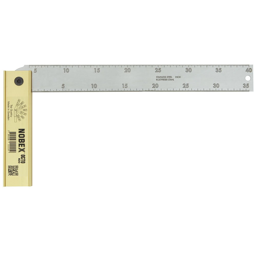Nobex 80110 Octo 400 equerre plegables tab 8 400 x 350 mm /ángulos