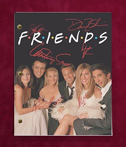 Friends Tv Script W/Reproduction Signatures Aniston, Cox, Kudrow C3