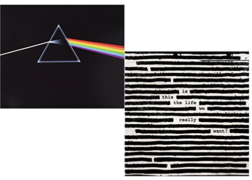 Dark Side Of The Moon - Is This the Life We Really Want? - Roger Waters - Pink Floyd 2 CD Album Bundling (Pink Floyd Album)