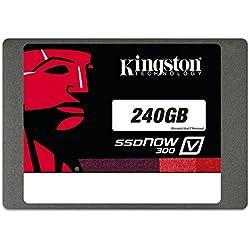 """Kingston SSDNowV300 Unità a Stato Solido Interno, 240 GB, 2,5"""", SATA 3.0"""