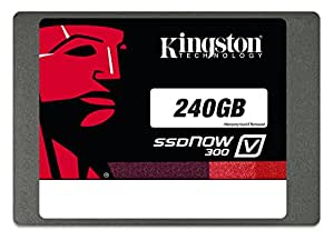 Kingston Digital 240GB SSDNow V300 SATA 3 2.5 (7mm height) Solid State Drive (SV300S37A/240G)