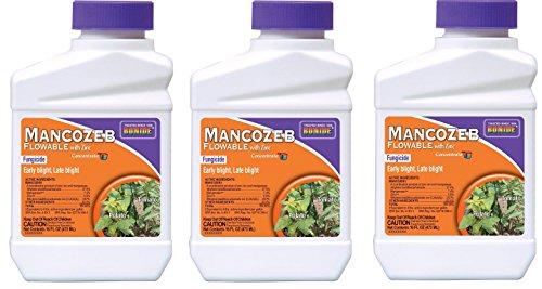 Bonide Chemical 862 PT Mancozeb Flowable Fungicide 1 Pint (.3-Pack)