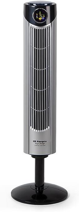 Orbegozo TWM 1015 Ventilador de torre iónico, mando a distancia, 3 modos de ventilación, display digital, función ...