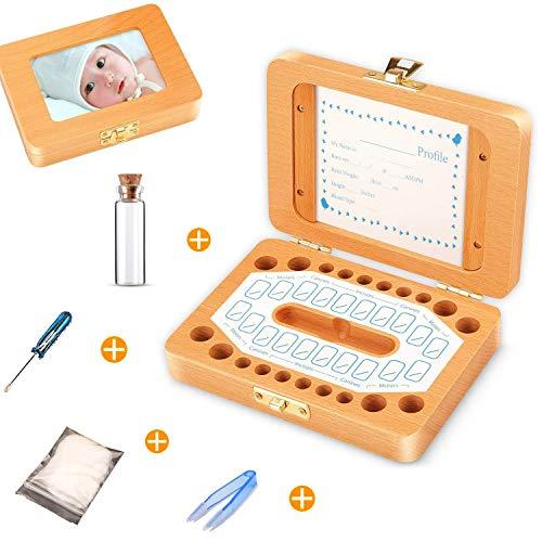Sparta's Store Melktanddoos, tanddoos, tanddoos, melktanddoos, tanddoosjes voor kinderen, melktand box, 100% handgemaakt…