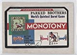1974 Topps Wacky Packages Series 6 - [Base] #N/A - Monotony COMC REVIEWED Poor