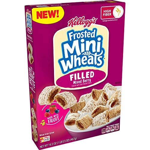 🥇 Kellogg's Frosted Mini-Wheats Filled