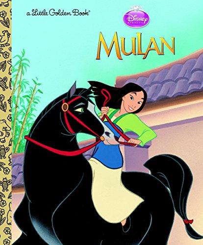Mulan (Disney Princess) (Little Golden Book) -