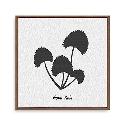 Framed for Living Room Bedroom Nordic Style Plants Theme for