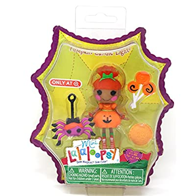 Lalaloopsy Mini Exclusive Pumpkin Candle Light: Toys & Games