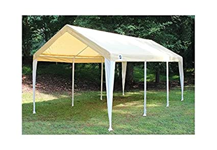 Image Unavailable. Image not available for. Color King Canopy Fitted Replacement Cover ...  sc 1 st  Amazon.com & Amazon.com : King Canopy Fitted Replacement Cover with Leg Skirt in ...