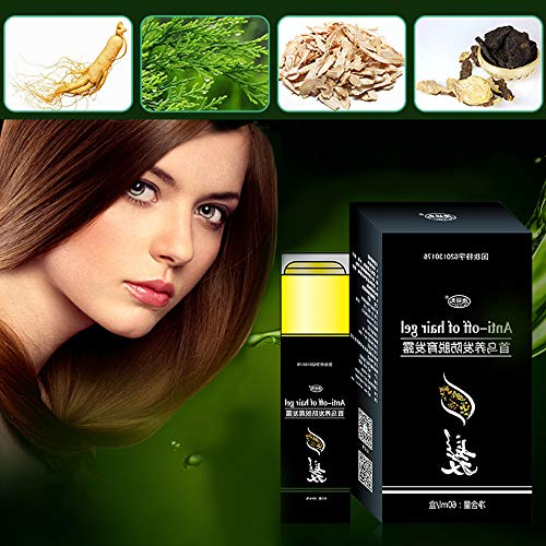 Lywey Natural Ginger Hair Growth Essence Liquid Fast Hair Growth Natural Hair Loss Treatment ()