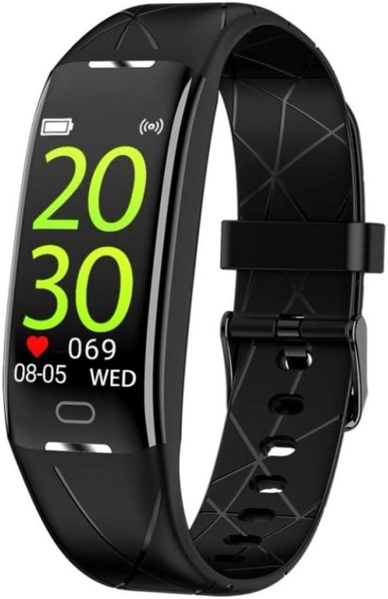 SJUTALR Relojes Deportivos Rastreador de Ritmo cardíaco Pulsera Inteligente Modos Deportivos Recordatorio de información por teléfono IP68 Pulsera Inteligente a Prueba de Agua
