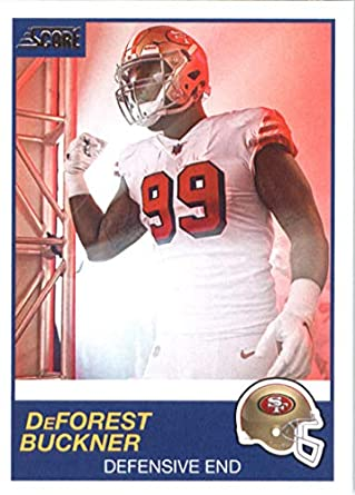 db49fb6345e 2019 Score  312 DeForest Buckner NM-MT+ San Francisco 49ers Officially  Licensed NFL Football