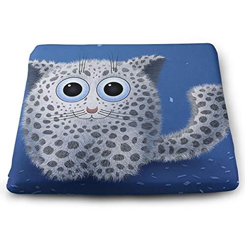 - Mars Sight Cute Leopard Kitten Seat Cushions Tailbone & Sciatica Pain Relief for Car Seat Cushion Or Wheelchair Cushion