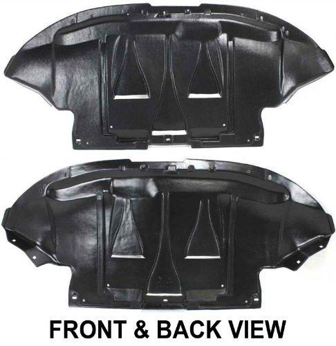 - OE Replacement Volkswagen Passat Lower Engine Cover (Partslink Number VW1228102)