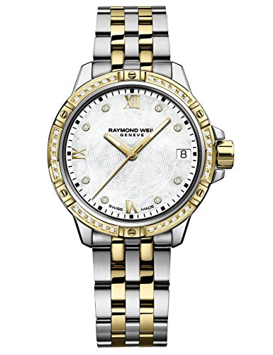Raymond Weil 'Tango' Quartz Stainless Steel Casual Watch, Color:Two Tone (Model: ()