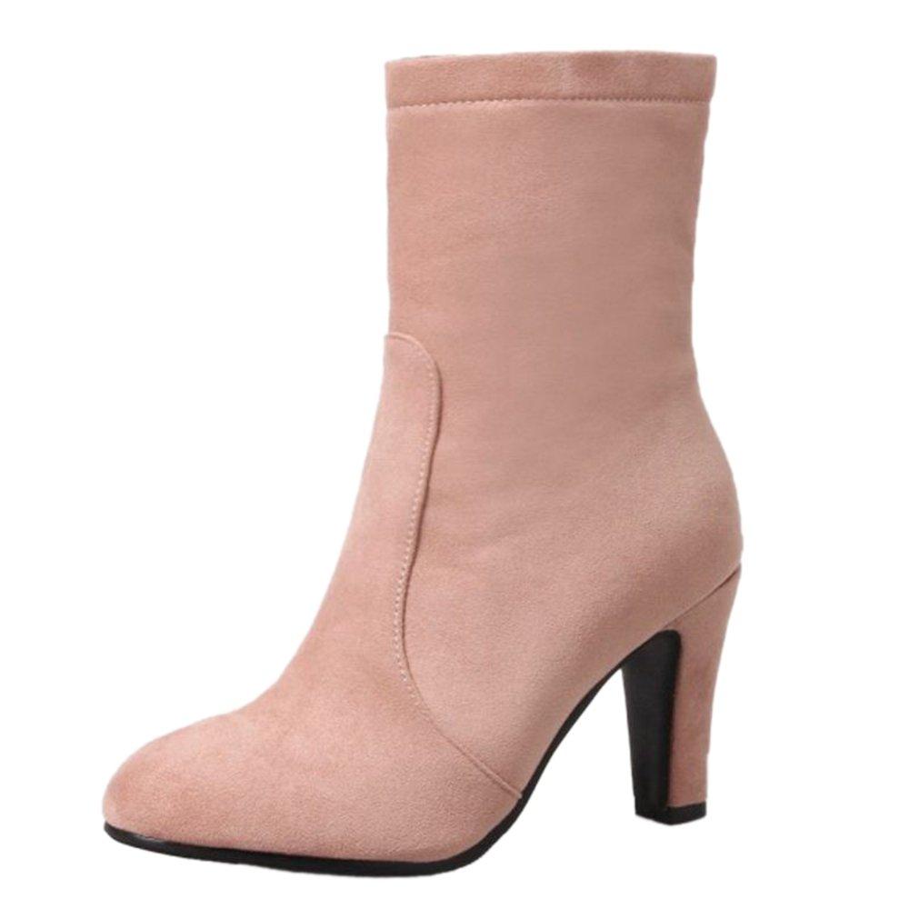 SJJH Rose , Boots Femme Chelsea Femme Boots Rose 7739448 - latesttechnology.space