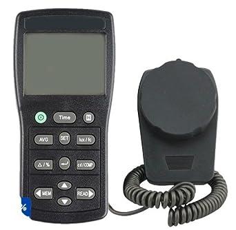 GOWE Handheld Measurement Light Meter Digital Lux Tester With Data Hold  Function Luminous Intensity