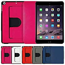 AirCase 360 Degree Rotatable Denim Finish Slim Folio Case for&... at amazon